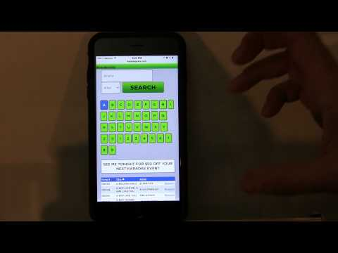 Karaoke Software Karaoke System Karaoke Song Book Software Apple Iphone Android Ipad