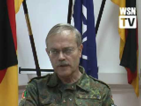 Brig. Gen. Harald Fugger on Kosovo