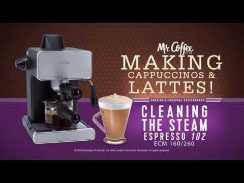 Mr. Coffee® Espresso Machines. -  Cleaning  your Espresso Maker