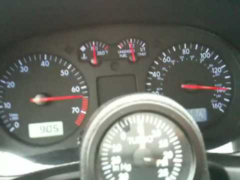 140+mph 2001 VW Jetta 1.8T K04 and APR tuning - YouTube