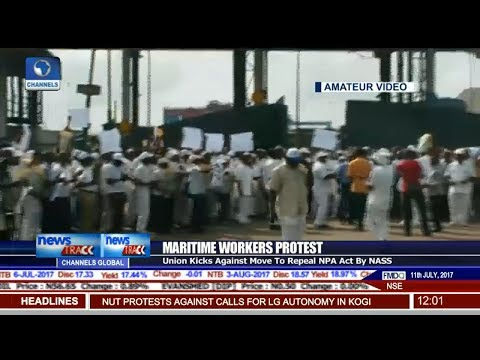 Maritime Protest: Union Kicks Against Move To Repeal NPA Act By NASS