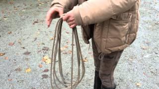 22-foot tie up knot
