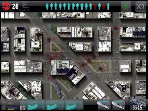 War of the Zombie - A new zombie outbreak strategy simulation for iPads and iPhones.