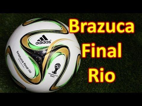 Adidas Brazuca Final Rio 2014 World Cup Match Ball