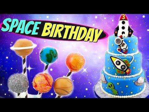 SPACE BIRTHDAY (BAKERY ORDER VLOGS)