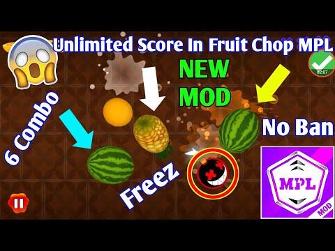 MPL New Mod Apk | MPL Fruit Chop Unlimited Score Trick | MPL Latest Mod Apk | Paytm Star