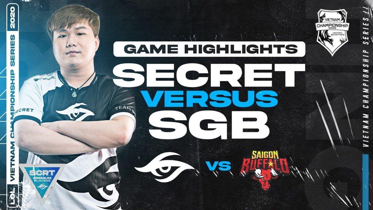 Team Secret vs SGB Highlights // VCS 2020 Summer WEEK 8 | League of Legends