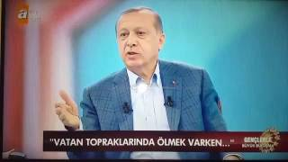 Erdoğan kendini peygambere benzetti