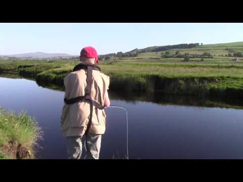 Fly Fishing for Salmon on the Ribble