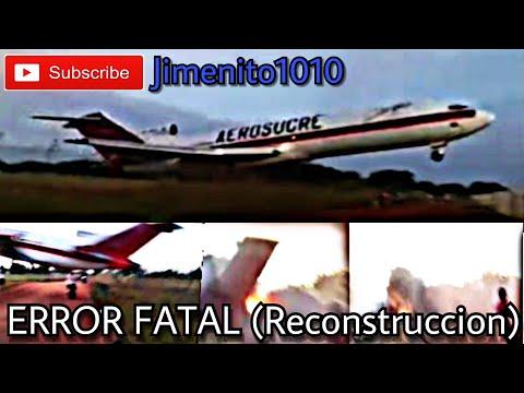 Error Fatal SOBREPESO Accidente Aéreo Aerosucre HK4544 B727-2JO