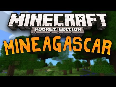 TROPICAL WONDERLAND - Mineagascar Custom Map - Minecraft Pocket Edition