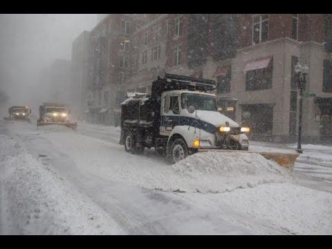 Winter Storm Stella hits New York City