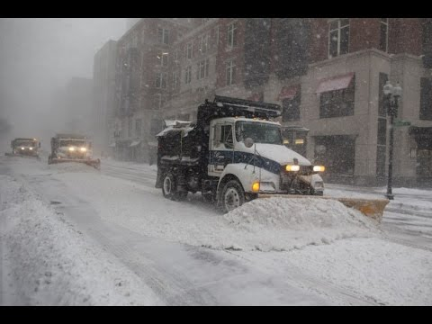 Winter Storm Stella hits New York City