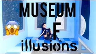MUSEUM OF ILLUSIONS!! VLOG