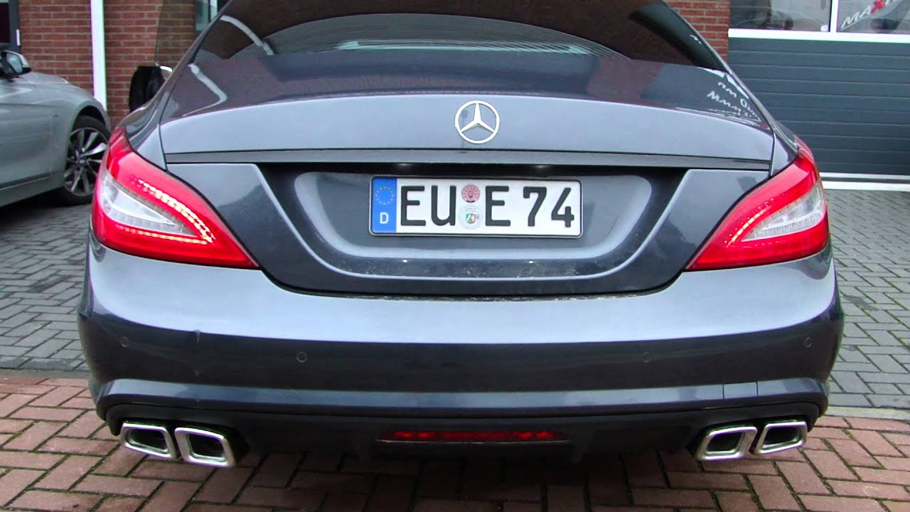 Mercedes Cls Amg Exhaust Sound Uitlaat Sportuitlaat By Www