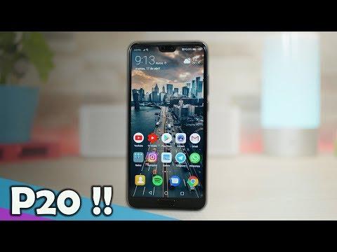 Huawei P20, según dicen... la SEGUNDA MEJOR CÁMARA en un móvil