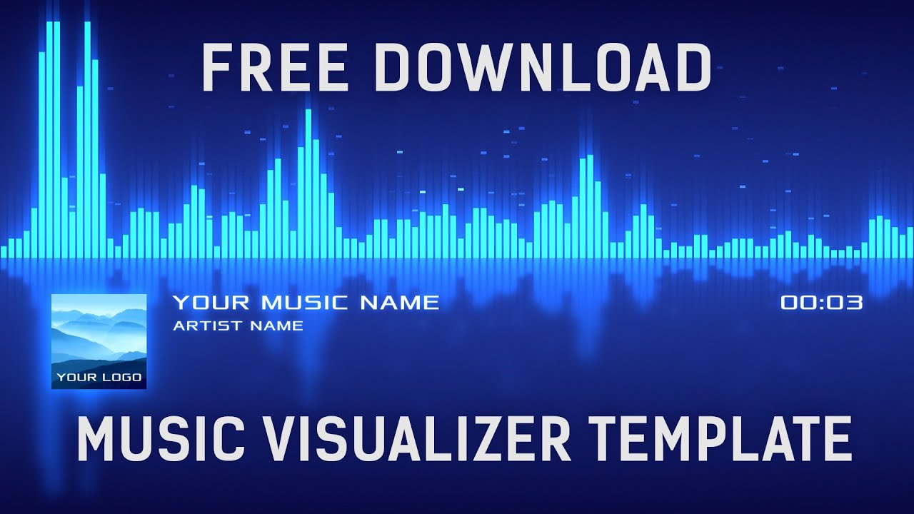 download template after effect cs4 - free music visualizer after effects template free