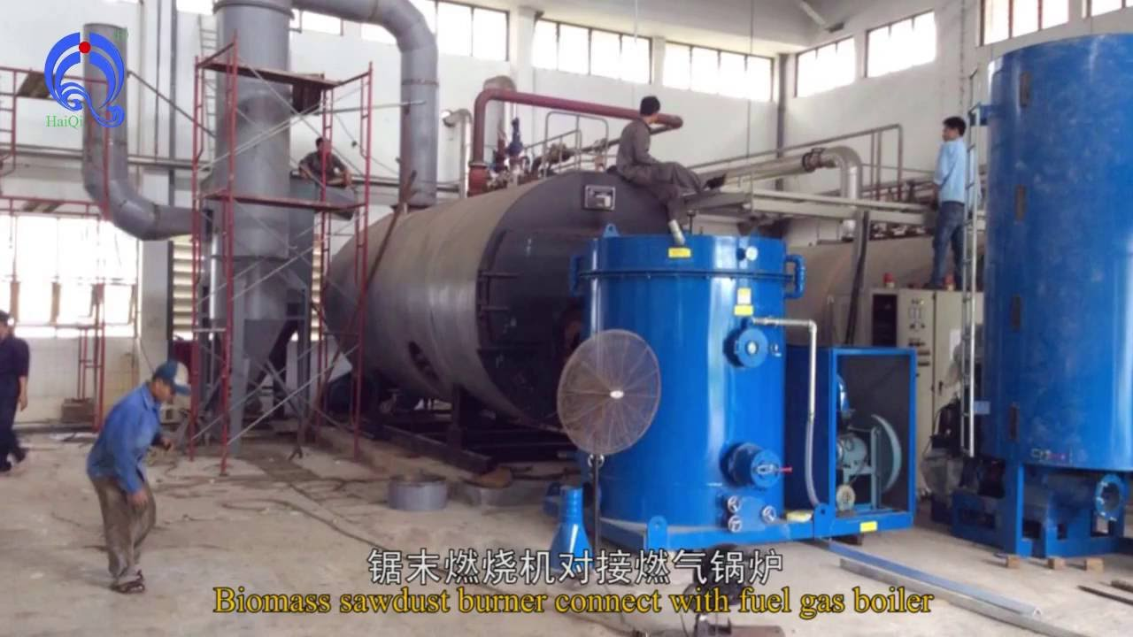 Sawdust Industry Furnace Work With 10ton Steam Boiler