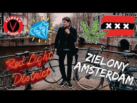 Amsterdam - 100 TON TRA.WY i CZERWONE LATARNIE - Vonsky