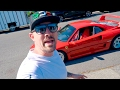 THEY GAVE ME A FERRARI F40! HOLY S#!T
