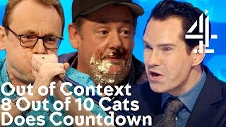 8 Out of 10 Cats Does Countdown, but it's totally out of context.