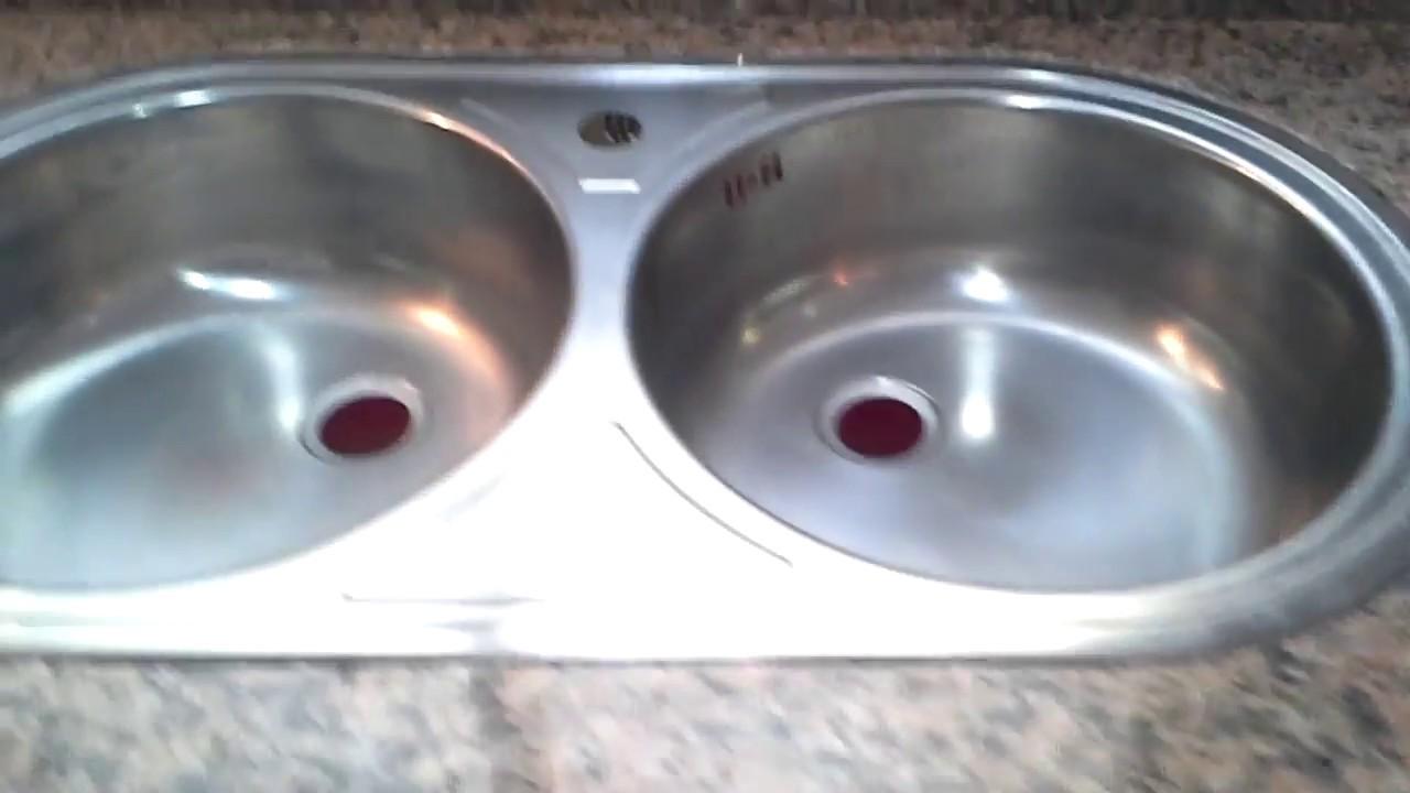 كيفية تركيب حوض المطبخ في الرخام Youtube