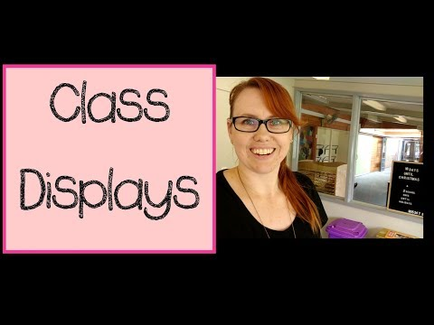 Back to School | Class Displays