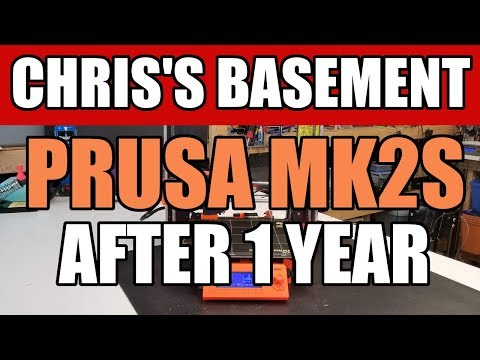 PRUSA MK2S After 1 Full Year Of Punishment - Chris's