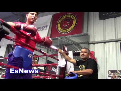 Best Sparring In pro Boxing: Mikey Garcia 37-0 30 KOs vs Egis Mean Machine 18-0 15 KOs