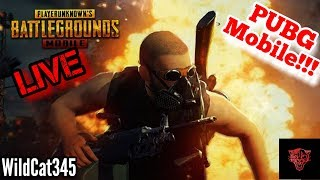 PUBG Mobile Live Gameplay (Playing With Subscribers + Squad Wins!!!) English!!!