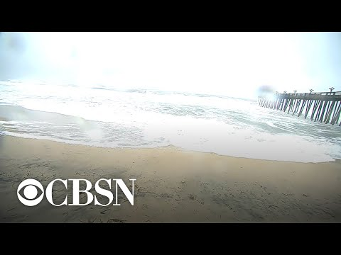 Dorian makes landfall in Cape Hatteras, North Carolina