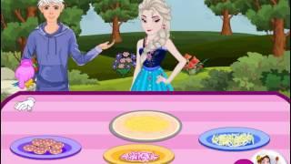 Elsa And Jack Special Reuben Pizza (Холодное сердце: Эльза и Джек готовят пиццу) - прохождение игры