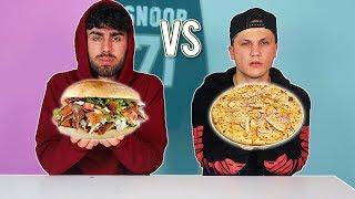 DÖNER vs PIZZA CHALLENGE !!!