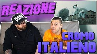 CROMO - ITALIENO (  feat. Vegas Jones ) | RAP REACTION 2017 | ARCADE BOYZ