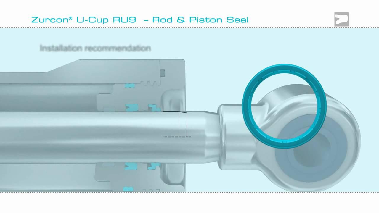 Hydraulic Rod Seal - Trelleborg