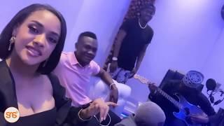 Tazama: Tanasha,Diamond,Mbosso na Lavalava wakiimba