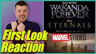 Eternals Teaser Reaction + FIRST LOOK at Black Panther 2 Title & MORE