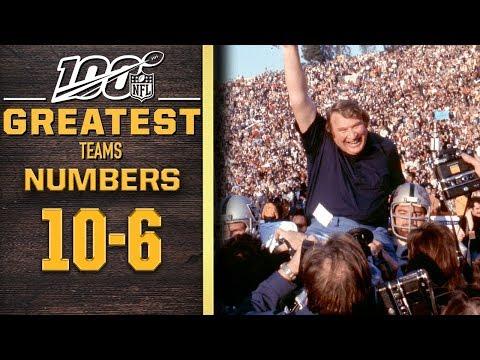 100 Greatest Teams: Numbers 10-6 | NFL 100