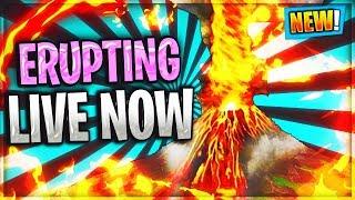 LIVE COUNTDOWN  *VOLCANO ERUPTING NOW* / NEXUS LOOT LAKE EVENT Fortnite Battle Royale SEASON 9 Video