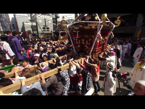 30年  茅ケ崎市「祝」大岡越前祭  神輿グランドフィナーレです。