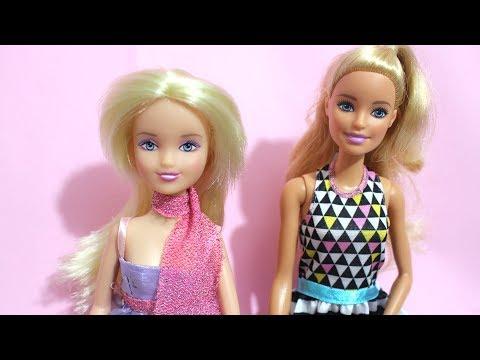 11 Senedir Kutudan Çıkmayı Bekleyen Bebeğim - Barbie vs Sindy - Kafası Delik Bebek - Bidünya Oyuncak