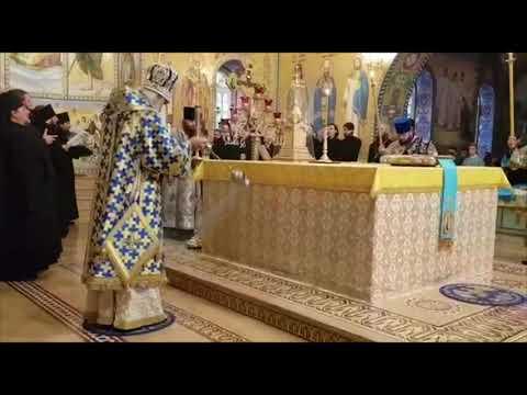 Праздник Успения Пресвятой Богородицы  Почаевская Лавра 2018г.