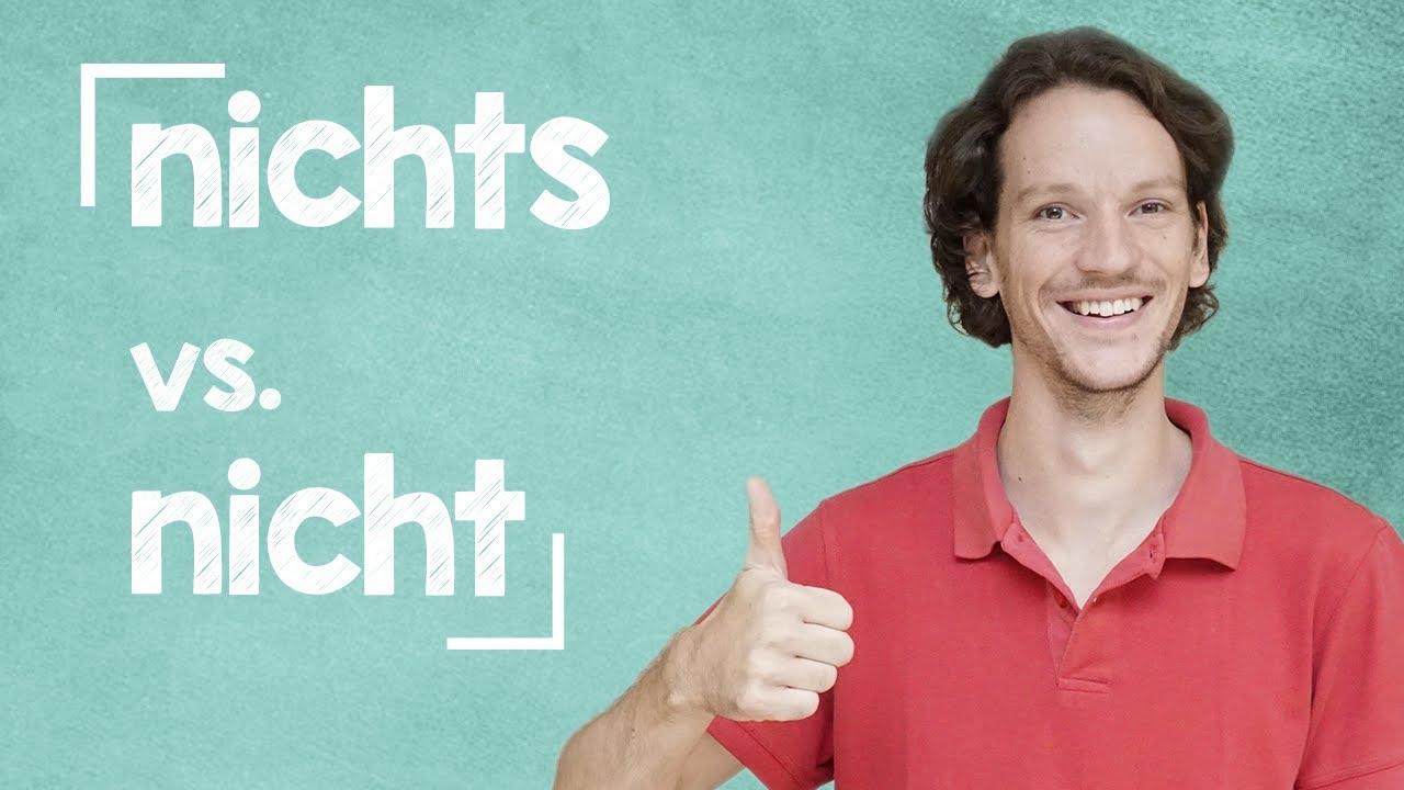 lingoni GERMAN (451) - nicht vs. nichts - B2