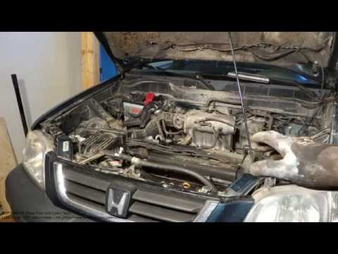 How to replace engine oil Honda CR-V. Years 1998 to 2015