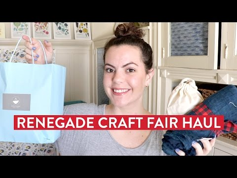 Renegade Craft Fair HAUL | San Francisco Spring 2017