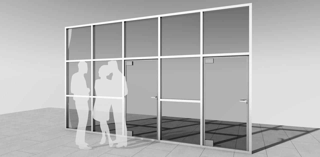 Costruire Una Parete In Vetrocemento archicad come realizzare una parete vetrata