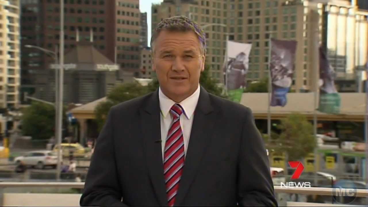 Seven News Melbourne Weather With Jo Silvagni 290114 – 4K HD