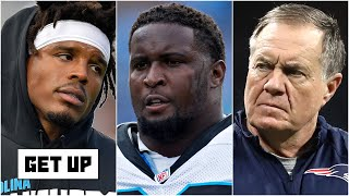 Cam Newton's former teammate Kyle Love is concerned about Cam playing for Bill Belichick | Get Up