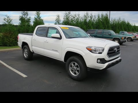 2016 toyota tacoma sr5 v6 double cab full tour start up youtube. Black Bedroom Furniture Sets. Home Design Ideas