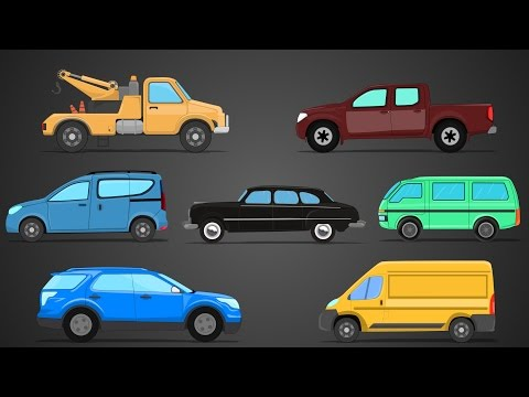 Light Vehicles | Street Vehicles | Learning Video